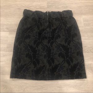 Marni Wool Blend Mini Skirt Size 38/US 2